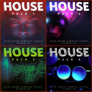 House Drum Loops Collection - Download