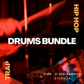 Trap Versus Hip Hop Drum Loops and Samples