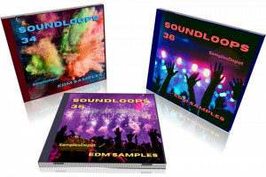 EDM Bundle: Sound Loops 34, 35 and 36 Collection