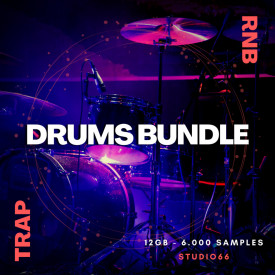 Trap Versus RnB Drum Loops and Samples