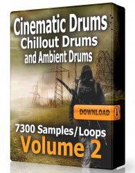 Cinematic Ambient and Chillout Drum Loops Volume 2 Download