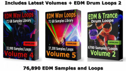 EDM Ultra MegaPack 2 Digital Download EDM Samples and Loops