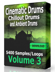 Cinematic Ambient and Chillout Drum Loops Volume 3 Download