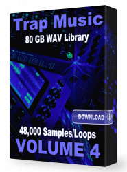 Trap WAV Samples Loops Volume 4 Download 48,000+ Loops and Samples