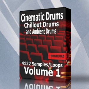Cinematic Ambient and Chillout Drum Loops Volume 1