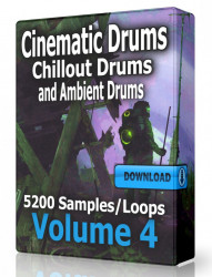 Cinematic Ambient and Chillout Drum Loops Volume 4 Download