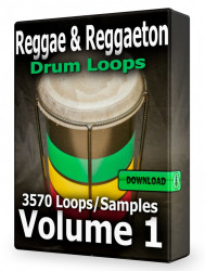 Reggae and Reggaeton Drum Loops Volume 1 Download
