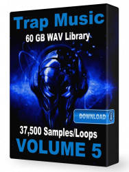 Trap WAV Samples Loops Volume 5 Download 37,500+ Loops and Samples