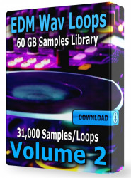 EDM Loops Volume 2 Collection Download 31.000 Samples