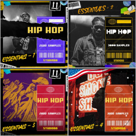 Hip Hop Essentials Bundle 1-4 Packs Included