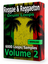 Reggae and Reggaeton Drum Loops Volume 2 Download