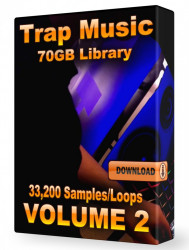 Trap WAV Samples Loops Volume 2 Download 33,200+ Loops and Samples