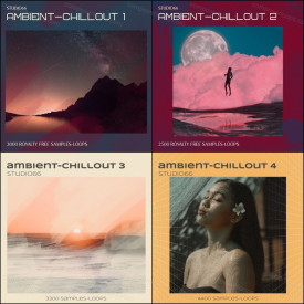 Chillout and Ambient Loops Bundle Parts 1-4