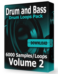 Drum and Bass Drum Loops Volume 2 WAV Samples Download