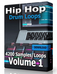 Hip Hop Drum Loops Volume 1 Download