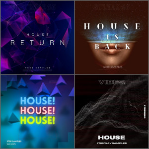 House Deluxe Bundle ALL HOUSE 1-4 Packs