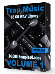 Trap WAV Samples Loops Volume 1 Download 34,000+ Loops and Samples