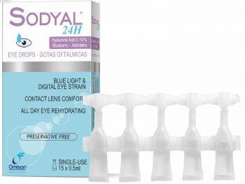 Poze SODYAL 24H - acid hialuronic 0,10% si extract de afine(Vaccinium Myrtillus)