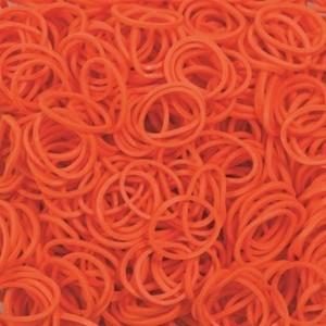 Elastice standad portocaliu, Rainbow Loom, 600 buc