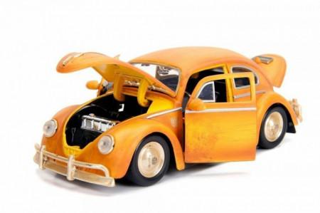 Macheta Metalica, Volkswagen Beetle, Bumblebee & Charlie, Transformers, Scara 1:24