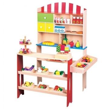 Magazin de cumparaturi din lemn