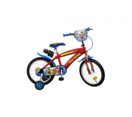 "Bicicleta 16"" Paw Patrol"