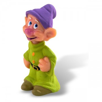 Figurina Disney Alba ca Zapada, piticul Dopey