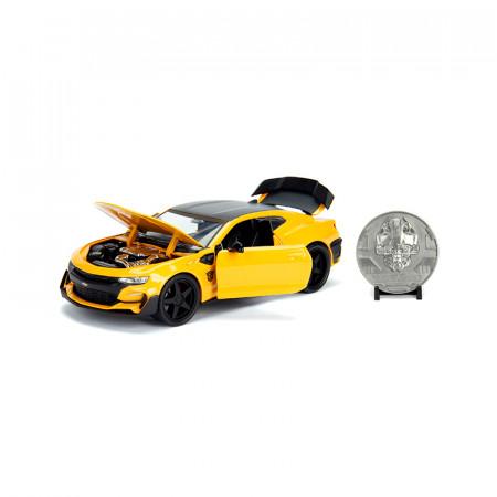 Macheta Masina Din Metal Chevy Camaro, Transformers, 20 Cm