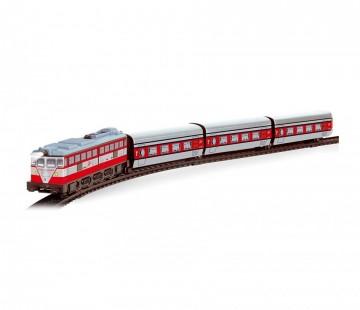 Trenulet de calatori electric cu macaz Articulado