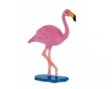 Figurina pasare Flamingo roz