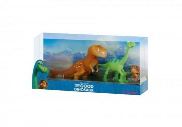 Set 3 Figurine The Good Dinosaur, Arlo, Spot si Butch