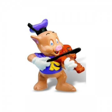 Figurina Little Pigs Violonist