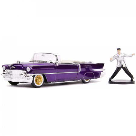 Macheta Metalica Cadillac Eldorado 1956. Elvis Presley, Scara 1:24