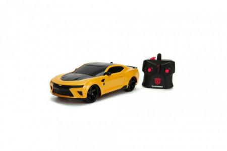 Masina Cu Telecomanda Chevy Camaro Transformers Bumblebee, Scara 1:16