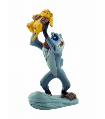 Figurina Garda Felina, Rafiki cu Simba pui