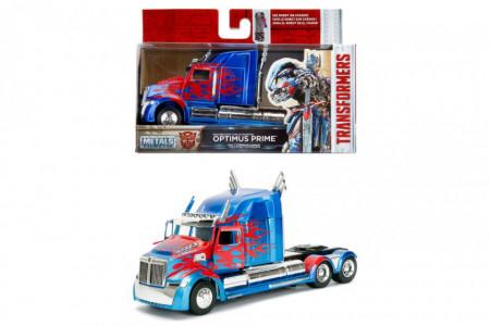 Macheta Metalica, T5 Western Star, Optimus Prime, Transformers, Scara 1:24