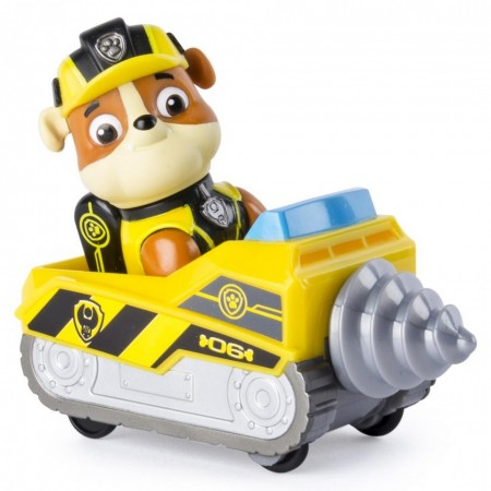 Mini Vehicul De Salvare Patrula Catelusilor, Cu figurina Rubble
