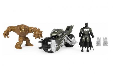 Set Batman Motocicleta Cu Doua Figurine Incluse