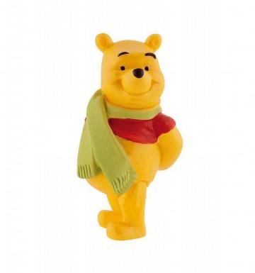 Figurina Winnie The Pooh cu fular