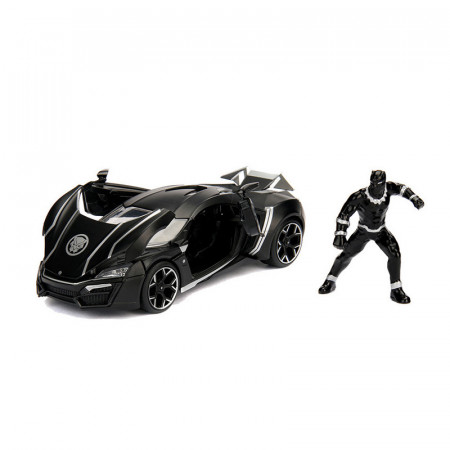 Macheta Metalica Lykan Hypersport, Black Panther, Marvel Avengers, Scara 1:24