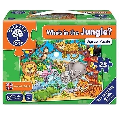 Puzzle Cine este in jungla?