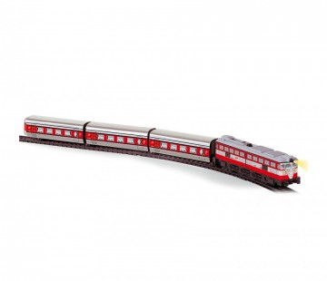 Trenulet de calatori electric Articulado