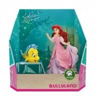 Set 2 figurine Disney Mica Sirena si Flounder