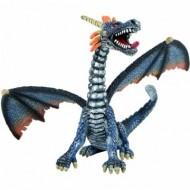 Figurina dragon albastru