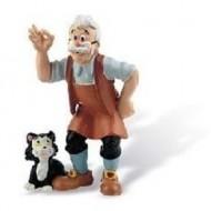 Figurina Pinochio, Gepeto