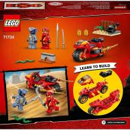LEGO NINJAGO MOTOCICLETA BLADE A LUI KAI 71734