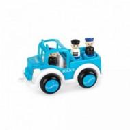 Masina de Politie cu 3 figurine Jumbo