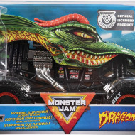 MONSTER JAM MACHETA METALICA SCARA 1 LA 24 DRAGON
