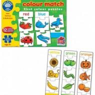 Puzzle educativ in limba engleza, culori