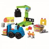 Set De Joaca plastilina Play-Doh, Macara Si Stivuitor